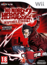 Jaquette No More Heroes 2: Desperate Struggle