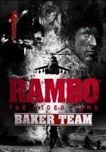 Jaquette Rambo The Video Game: Baker Team