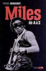 Couverture Miles Davis de A à Z