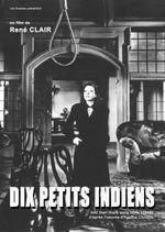 Affiche Dix Petits Indiens