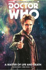 Couverture A Matter of Life and Death - Doctor Who : Les Nouvelles Aventures du Huitième Docteur, tome 1