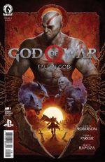 Couverture God of War: Fallen God