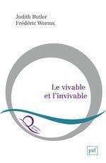 Couverture Le Vivable et l'Invivable