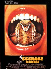 Affiche SSSnake, le cobra