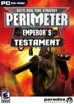 Jaquette Perimeter: Emperor's Testament