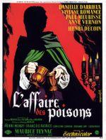 Affiche L'Affaire des poisons