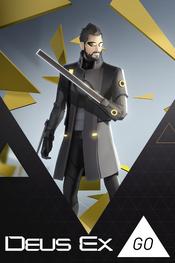 Jaquette Deus Ex GO
