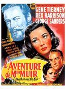 Affiche L'Aventure de Mme Muir