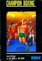 Jaquette Champion Boxing