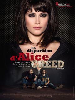 Affiche La Disparition d'Alice Creed