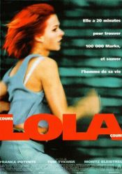 Affiche Cours, Lola, cours