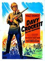 Affiche Davy Crockett, roi des trappeurs
