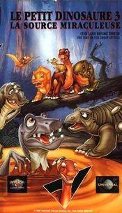 Affiche Le Petit Dinosaure 3 : La Source miraculeuse