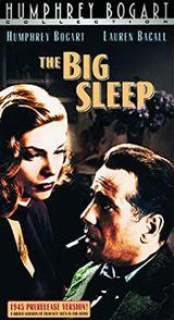 Affiche Le Grand sommeil (premier montage)