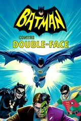 Affiche Batman contre Double-Face