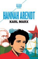 Couverture Karl Marx