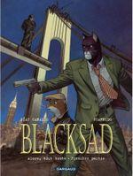 Couverture Alors, tout tombe : première partie - Blacksad, tome 6