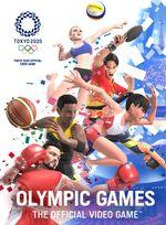 Jaquette Jeux Olympiques de Tokyo 2020 : le jeu vidéo officiel