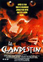 Affiche Le Clandestin