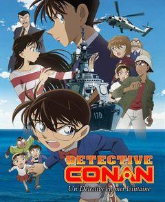 Affiche Détective Conan: Un détective en mer lointaine