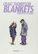 Couverture Blankets, manteau de neige