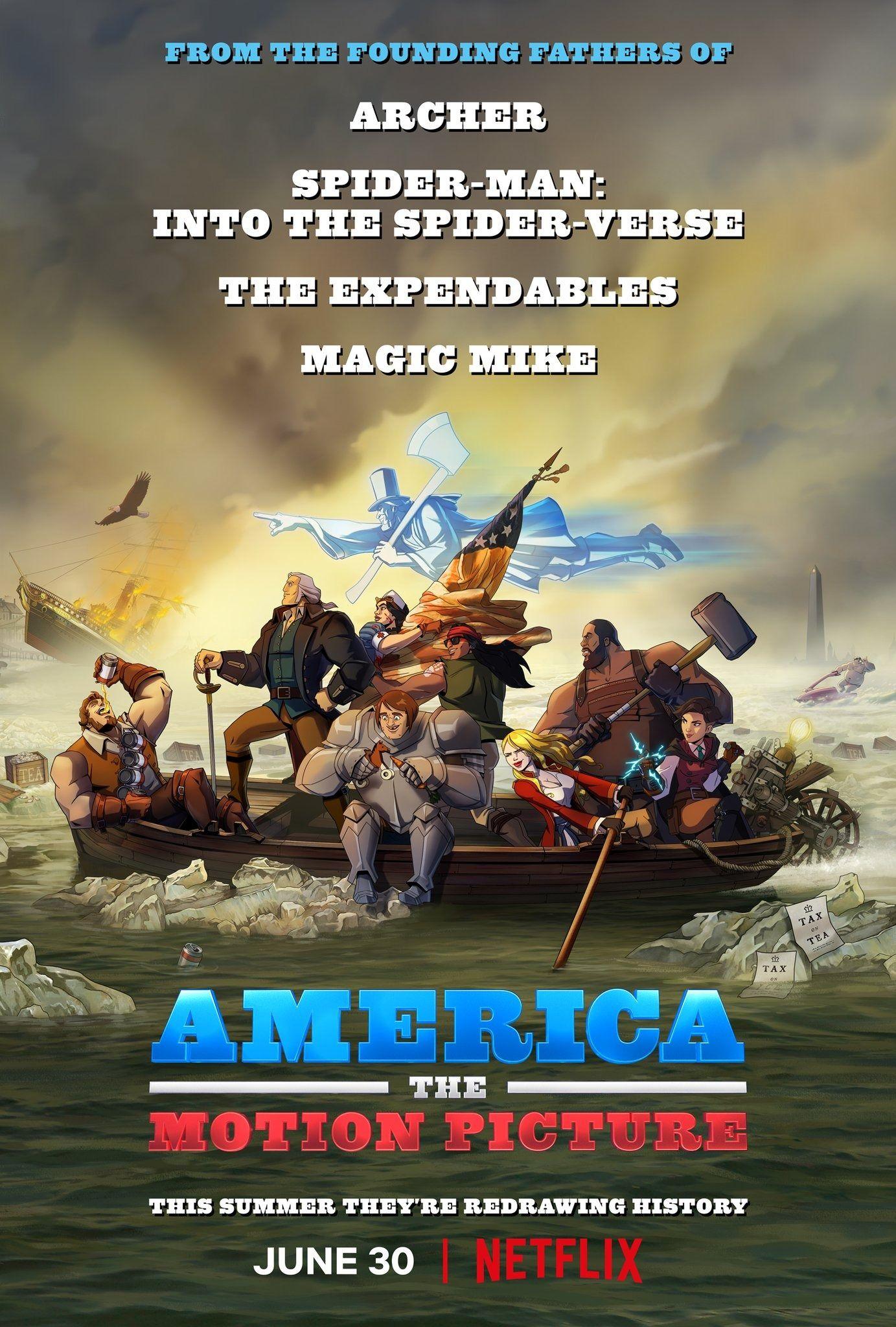 America, le film - Long-métrage d'animation (2021) - SensCritique
