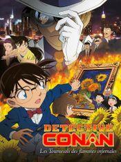 Affiche Détective Conan : Les Tournesols des flammes infernales