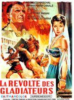 Affiche La Révolte des gladiateurs