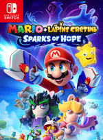 Jaquette Mario + The Lapins Crétins: Sparks of Hope
