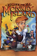 Jaquette Escape from Monkey Island