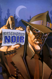 Jaquette Discworld Noir