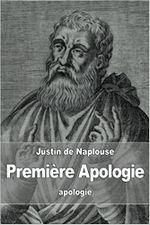 Couverture Première Apologie