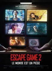Affiche Escape Game 2 : Le monde est un piège