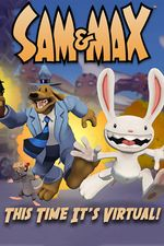 Jaquette Sam & Max This Time It's Virtual!
