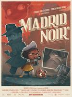 Affiche Madrid noir