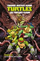 Couverture Le procès de Krang - Les Tortues Ninja, tome 14