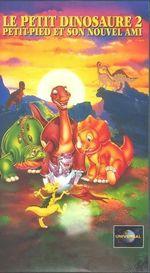 Affiche Le Petit Dinosaure : Petit-Pied et son nouvel ami