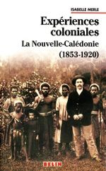 Couverture Expériences coloniales
