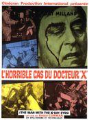 Affiche L'Horrible cas du Dr X