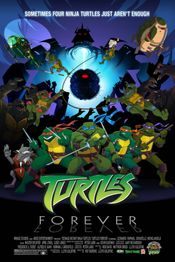 Affiche Turtles Forever
