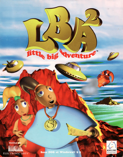 Jaquette Little Big Adventure 2