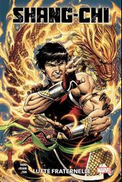 Couverture Shang-Chi : Lutte fraternelle