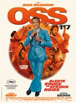 Affiche OSS 117 : Alerte rouge en Afrique noire