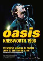 Affiche Oasis : Knebworth 1996