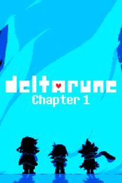 Jaquette Deltarune: Chapter 1