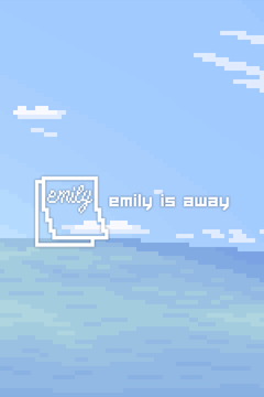 Jaquette Emily is Away