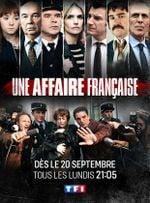 Affiche Une affaire Française