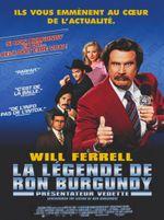 Affiche La Légende de Ron Burgundy - Présentateur vedette