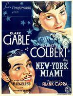 Affiche New York-Miami