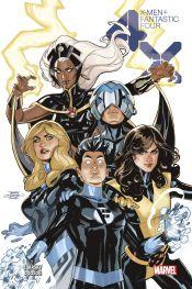Couverture X-Men/Fantastic Four: 4X
